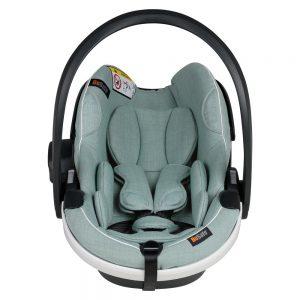 BeSafe iZi Go Modular X1 i-Size столче за кола – Sea Green Melange