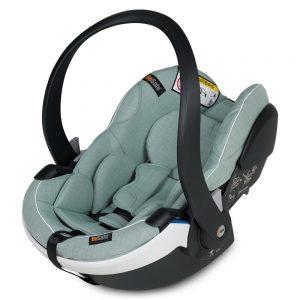 BeSafe iZi Go Modular X1 i-Size столче за кола – Sea Green Melange 1