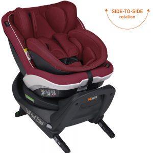 BeSafe iZi Twist B i-Size столче за кола Burgundy Melange