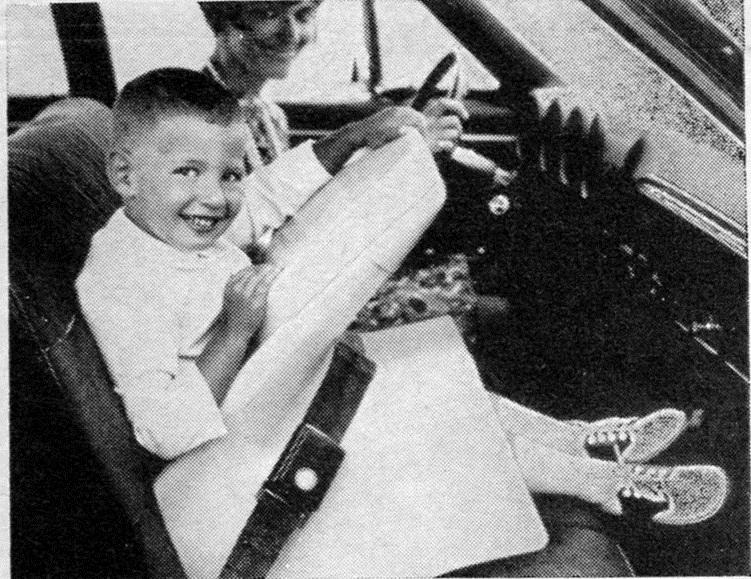 история на детските седалки за кола