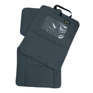 BeSafe протектор за автомобилна седалка с място за таблет Antracite