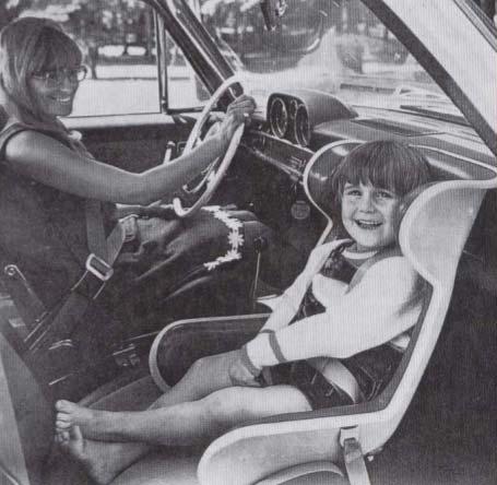 история на детските столчета за кола