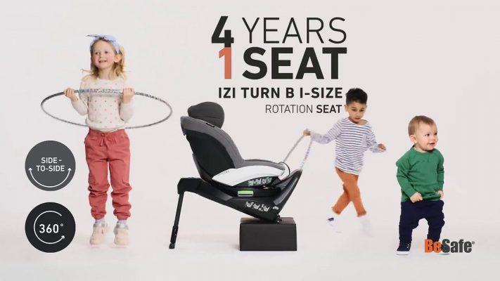 Защо да изберем столче за кола BeSafe iZi Turn B i-Size